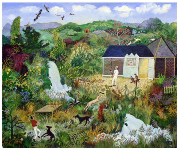 flying kites print by anna pugh