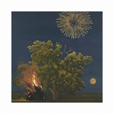 Bonfire Tree and Moon